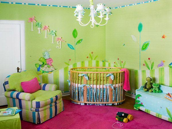 25 идей комнат для новорожденных