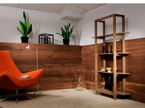 Деревянные панели в интерьере — 28 идей