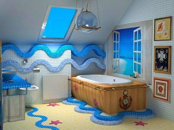 Оригинальный дизайн ванной — 29 идей