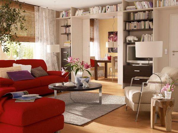 Дизайн маленькой гостиной — 30 идей