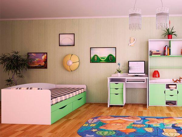Комнатные растения в интерьере детской