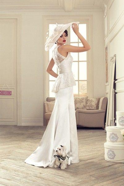 Свадебные платья прямого кроя, идеи.