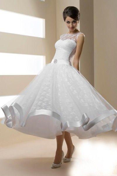 Идеи свадебных платьев в стиле ретро