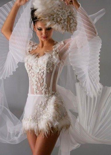 Креативные свадебные платья 25 идей / О свадьбе
