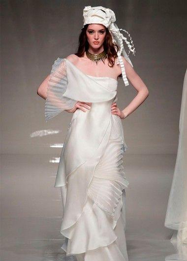 Креативные свадебные платья, идеи.