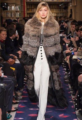 Модные шубы 2016