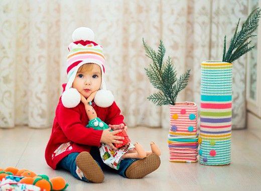 Детская новогодняя фотосессия, идеи.