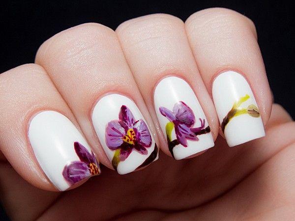 Идеи маникюра в белом цвете
