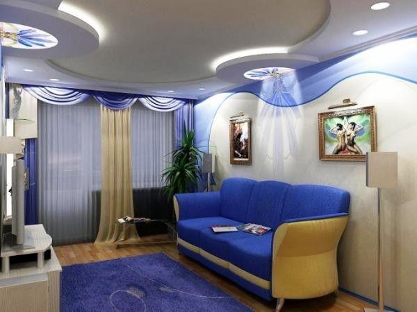 Дизайн спальни с диваном