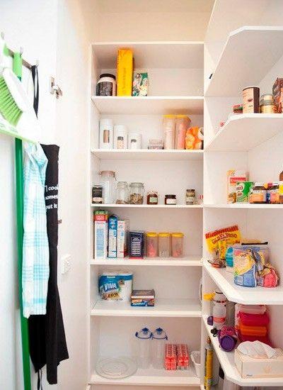 Кладовка в квартире, идеи.
