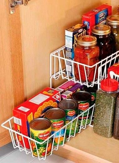 Хранение продуктов в квартире