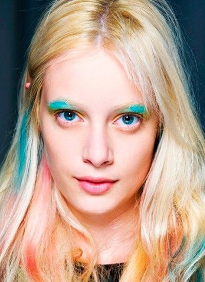 Идеи макияжа с яркими тенями