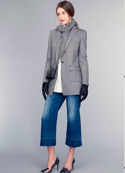 12. Широкие брюки до икры будут невероятно популярны этой весной.