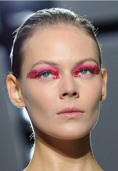 Идеи макияжа с блестками
