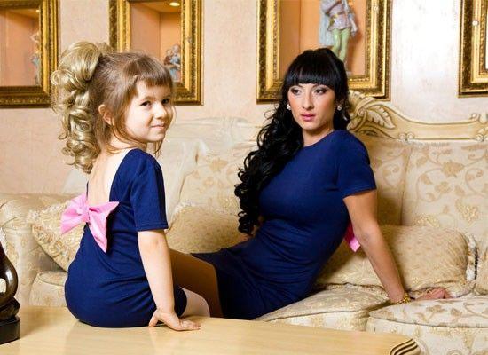 Фотосессия мама с дочкой