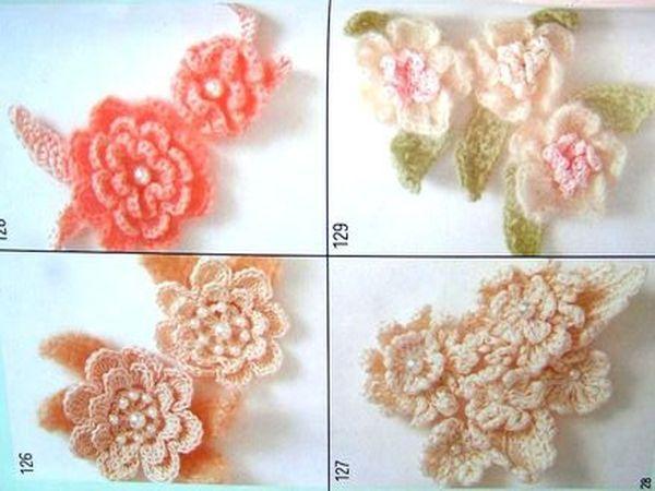 Обычно для вязания цветов