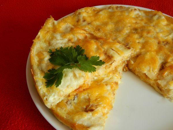 Быстрый пирог с сыром и зеленью | Pechemdoma com