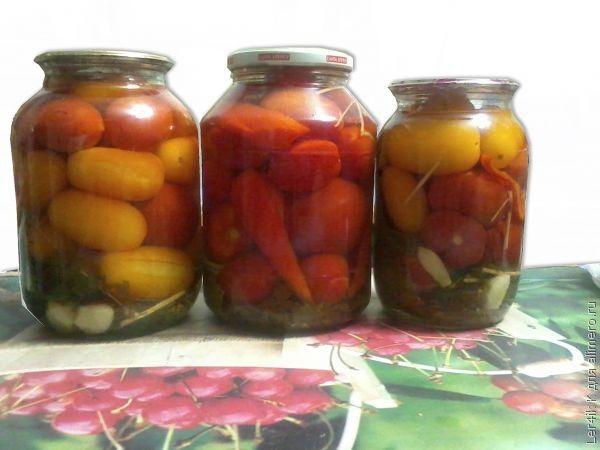 Консервированные помидорки на зиму