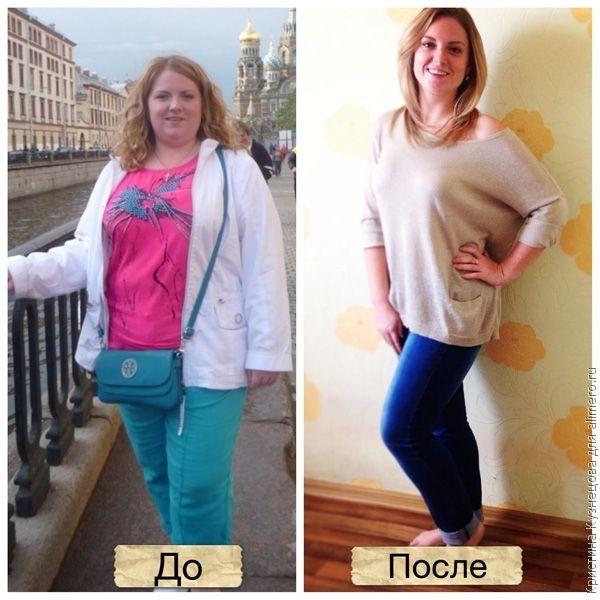 как я похудела за год