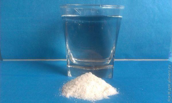 очищение кишечника водой с солью и лимоном