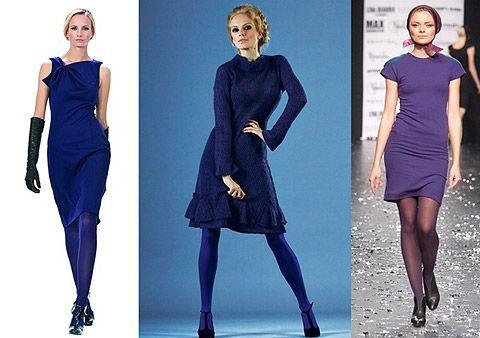 Вариант № 4. Можно выбрать колготы, которые своим цветом как бы продолжают образ всего наряда и находятся с одеждой в одной цветовой гамме.