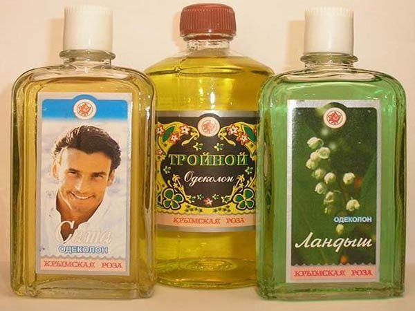 Самые популярные парфюмы детства. Особенно тройной одеколон, которым мы мазались летом по вечерам, чтобы не кусались комары.