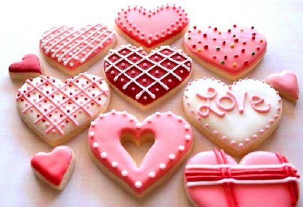 Романтичные печеньки.
