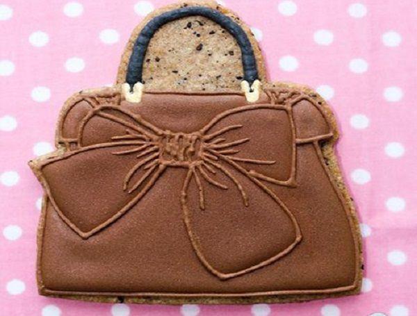 Печенье-сумочка.