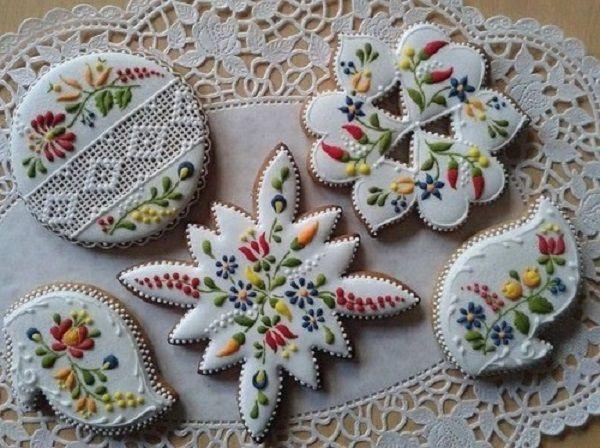 Ажурное печенье.