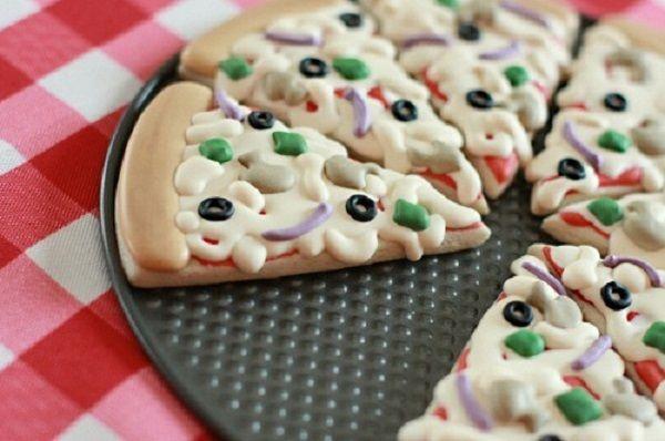 Печенье-пицца.