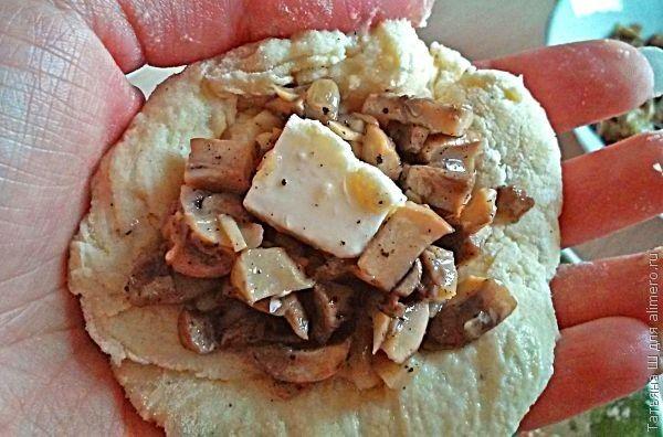 Картофельные зразы с грибами рецепты