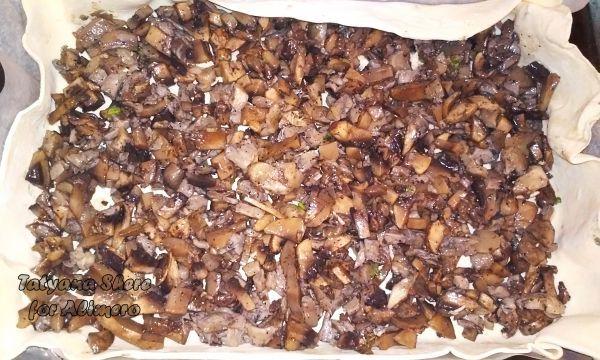 грибной пирог рецепт