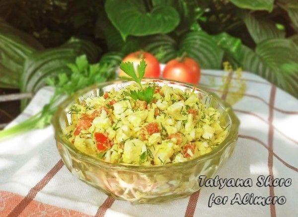 салат с сыром рецепт