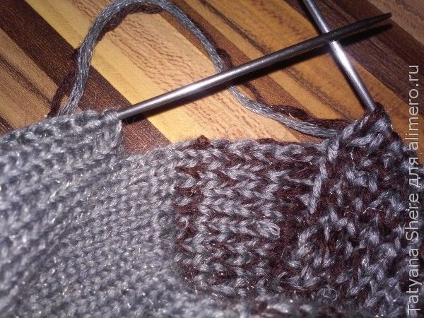 вязанные носки