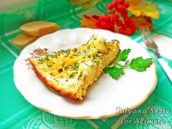 омлет с цветной капустой
