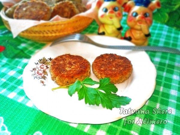 котлеты из грибов с сыром