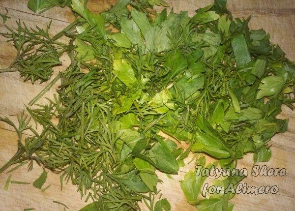 Салат из пекинской капусты с проростками