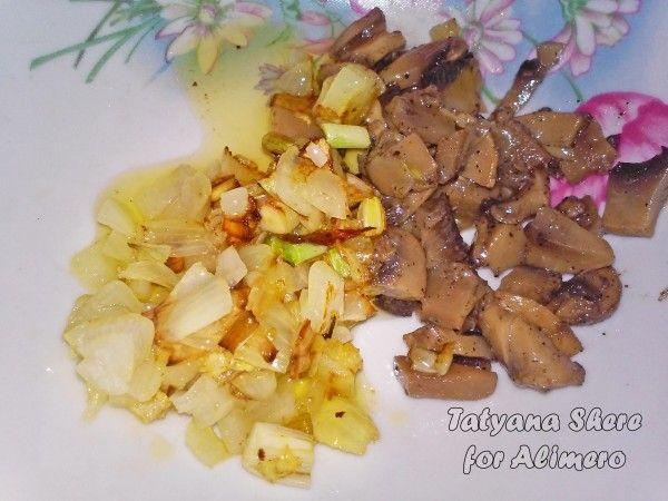 Омлет с грибами в духовке