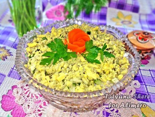 Рыбные салаты  50 рецептов с фото Готовим салаты с