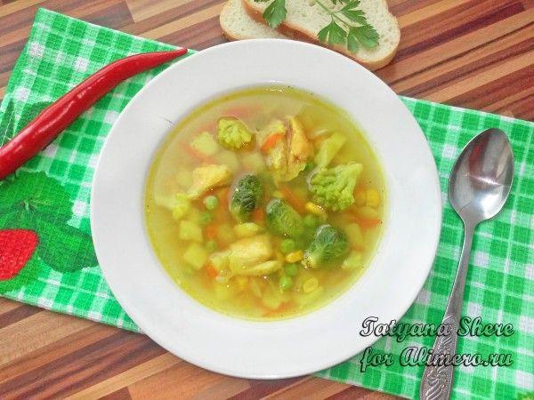 Суп из сёмги