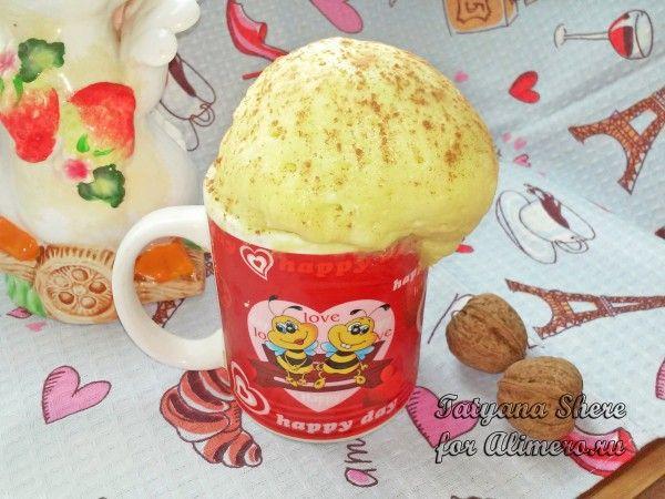 Яблочно творожный кекс в микроволновке — pic 8