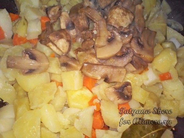 Тушеная картошка