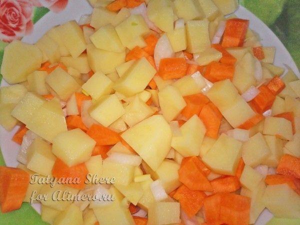 рецепт картошки в сливках в духовке рецепт с фото