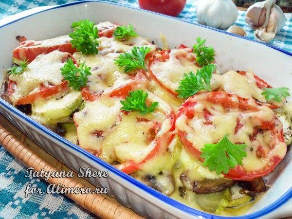 грибы и кабачки рецепты