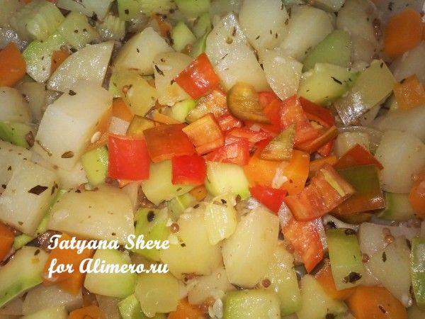 Тушеные овощи со специями