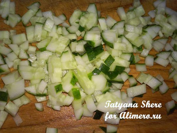 Лаваш с овощами
