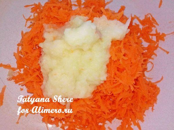 Сырники с морковкой