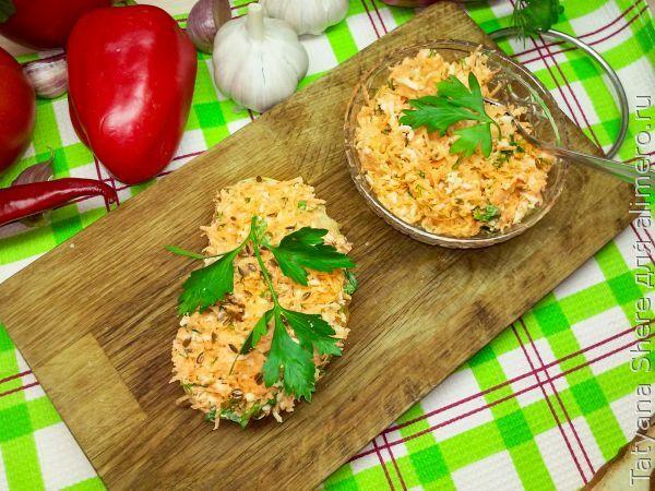 Вкусный паштет из моркови