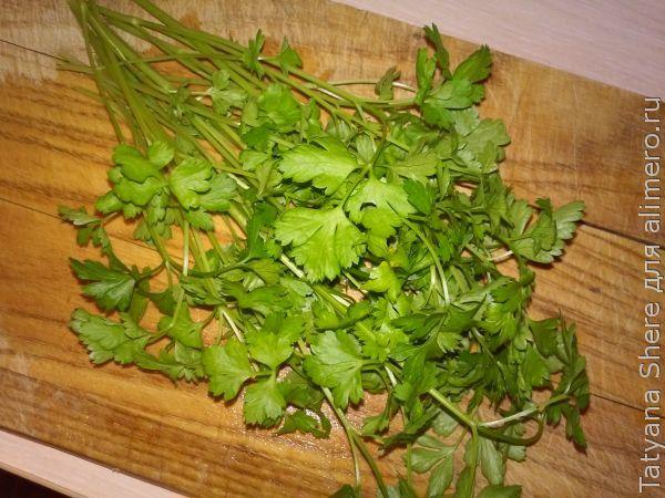Салат с вешенками и кукурузой