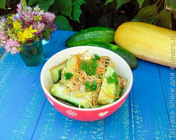 корейские салаты и закуски рецепт
